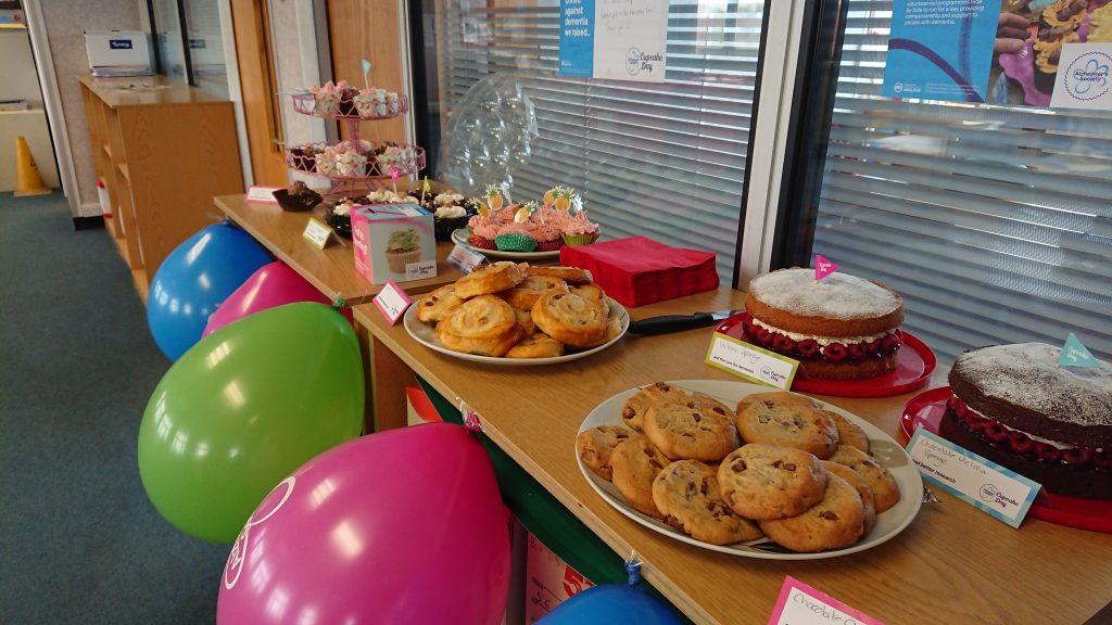 Alzheimer's Society Cupcake Day Bake Sale