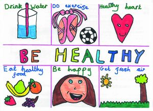 Totally Healthy Winning Poster