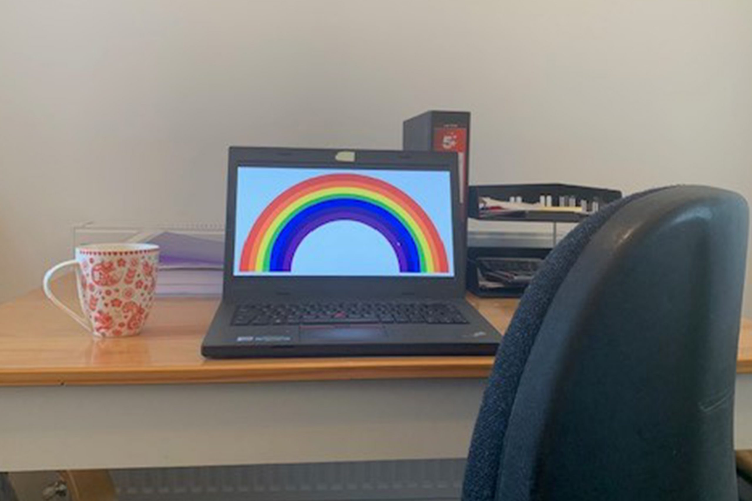 Rainbow Working from home